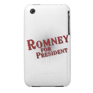 ROMNEY PARA el PRESIDENTE (explosión) Case-Mate iPhone 3 Protectores