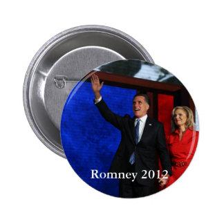 Romney para el presidente pin