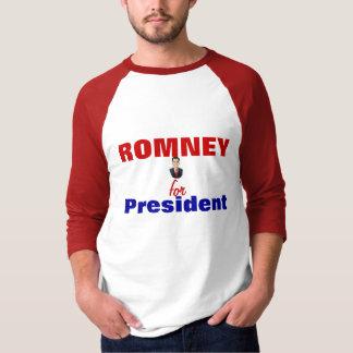 Romney para el presidente playera