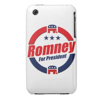 ROMNEY PARA el PRESIDENTE (republicano) iPhone 3 Protector