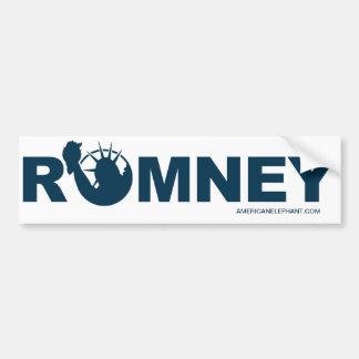 Romney para la pegatina para el parachoques de la pegatina de parachoque