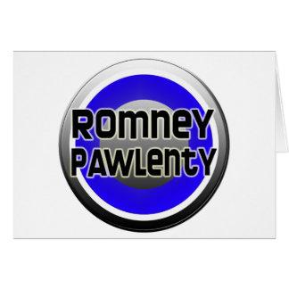Romney Pawlenty 2012 Card