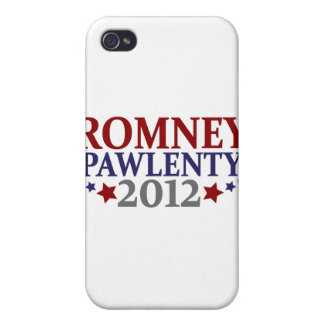 Romney Pawlenty 2012 Cover For iPhone 4
