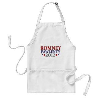 Romney Pawlenty 2012 Delantal
