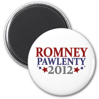 Romney Pawlenty 2012 Magnet