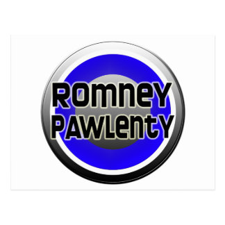 Romney Pawlenty 2012 Tarjeta Postal