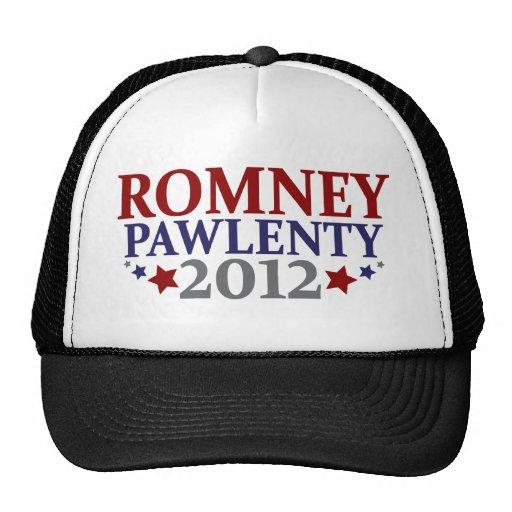 Romney Pawlenty 2012 Trucker Hat