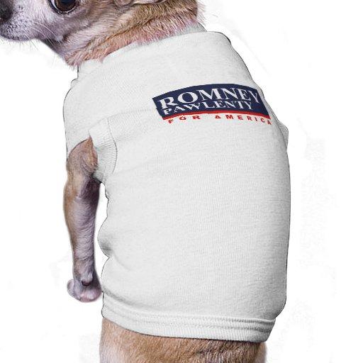ROMNEY PAWLENTY VP PARA AMERICA.png Camisas De Mascota
