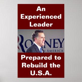 Romney Photo Poster
