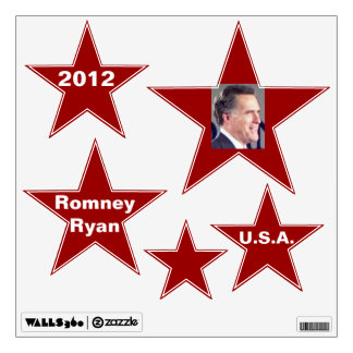 Romney Photo Star Removable Wall Decal