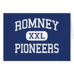 Romney Pioneers Middle Romney West Virginia Cards