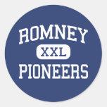 Romney Pioneers Middle Romney West Virginia Stickers