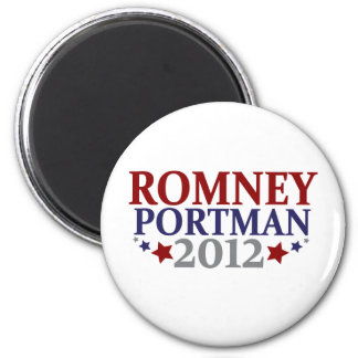 Romney Portman 2012 2 Inch Round Magnet