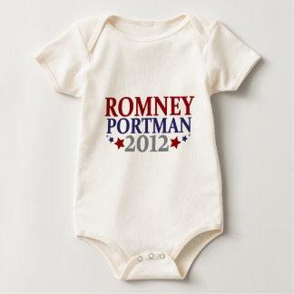 Romney Portman 2012 Baby Bodysuit