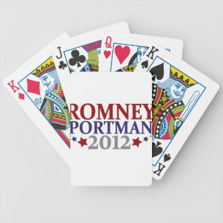 Romney Portman 2012 Bicycle Playing Cards