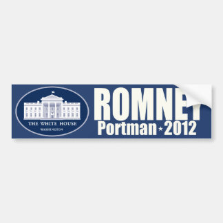 Romney - Portman - 2012 Bumper Sticker