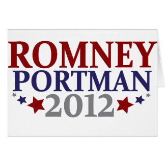Romney Portman 2012 Card