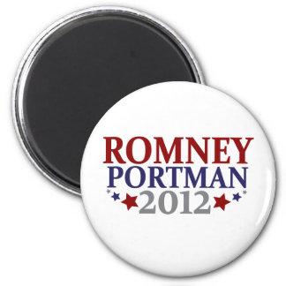 Romney Portman 2012 Magnets