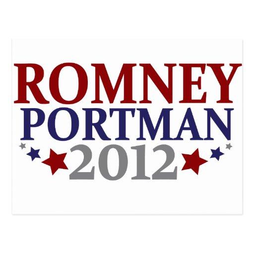 Romney Portman 2012 Postales