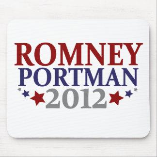 Romney Portman 2012 Alfombrillas De Raton
