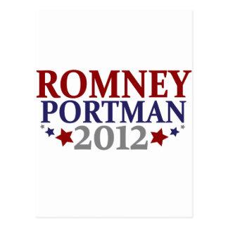 Romney Portman 2012 Postal