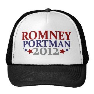 Romney Portman 2012 Trucker Hat