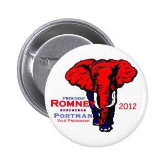 Romney Portman Button