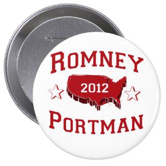 ROMNEY PORTMAN DELEGATES.png Pinback Button
