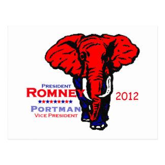 Romney Portman Postcard