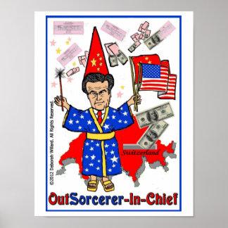 Romney: Poster del OutSourcerer-En-Jefe