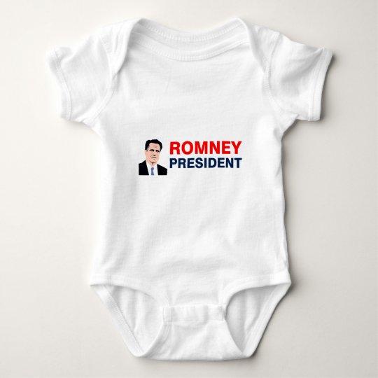 Romney president 2012 baby bodysuit