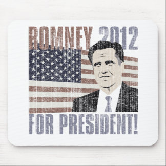 Romney president 2012 mouse pad