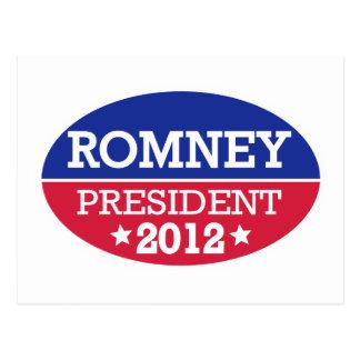Romney President 2012 Post Cards
