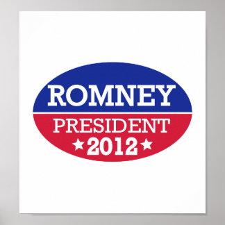 Romney President 2012 Poster