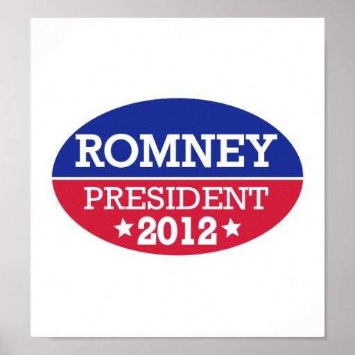 Romney President 2012 Posters