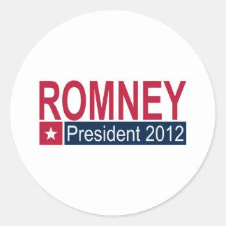 Romney President 2012 Sticker