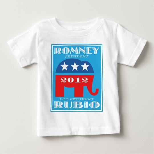 Romney President 2012 Vice President Rubio.png Baby T-Shirt