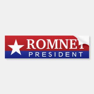 Romney President Bumper Stickers