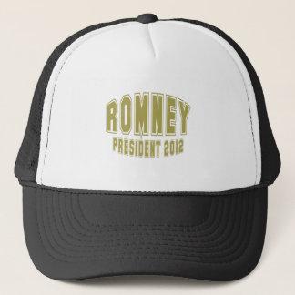 ROMNEY-PRESIDENT TRUCKER HAT