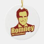 ROMNEY Propaganda Christmas Tree Ornaments