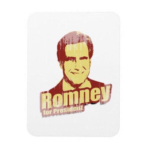 ROMNEY Propaganda.png Rectangle Magnets