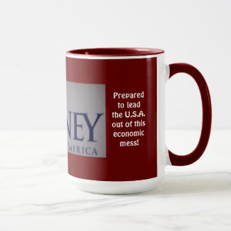 Romney Proven Leader Photo 15 oz. Mug