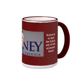 Romney Proven Leader Photo 15 oz. Mug