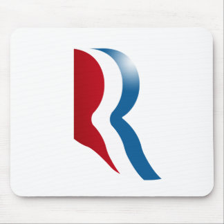 ROMNEY R LOGO MOUSE PAD