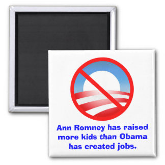 Romney Raised More Kids Than Obama Created Jobs Magnet