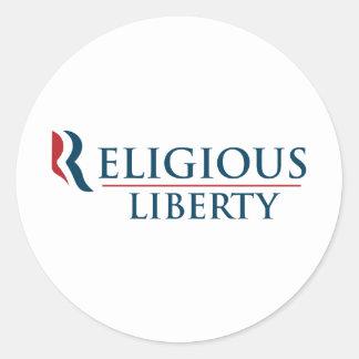 Romney: Religious Liberty Stickers