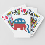 Romney Republican Party Election Logo by Fontico Card Decks