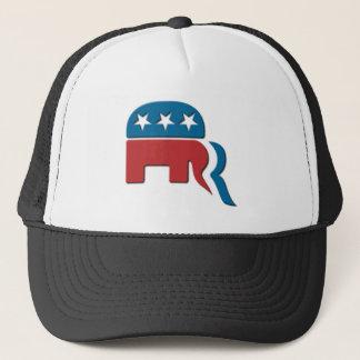Romney Republican Party Election Logo by Fontico Trucker Hat