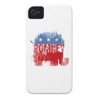 ROMNEY republicano Case-Mate iPhone 4 Coberturas