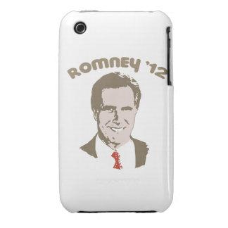 ROMNEY RETRO '12 iPhone 3 Case-Mate PROTECTORES